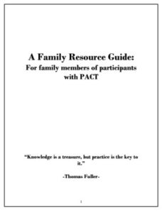 A Family Resource Guide cover