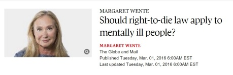 Wente Right to Die